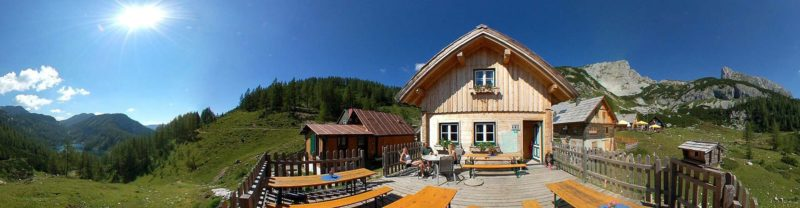 Almrauschhütte Panorama
