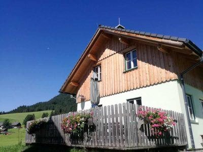 Hütte Hiatamadl mit Terasse