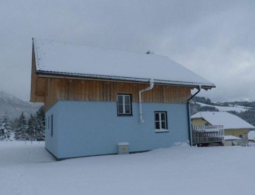Hütte Schneeflockerl